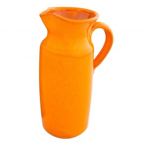 Selena_Orange_Rustic_Bottle_Jug_18cm
