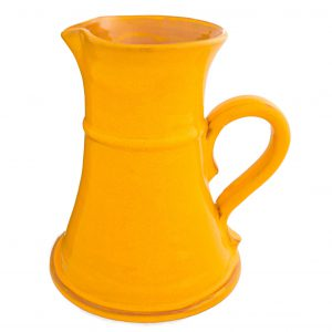 Selena_Small_Flat_Yellow_Jug_15cm