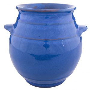 Selena_Blue_Utensil_Jar_20cm