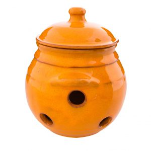 Selena_Orange_Garlic_Storage_Jar_15cm