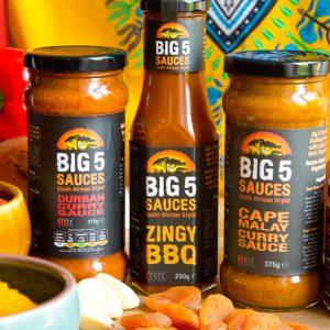 Big 5 Sauces